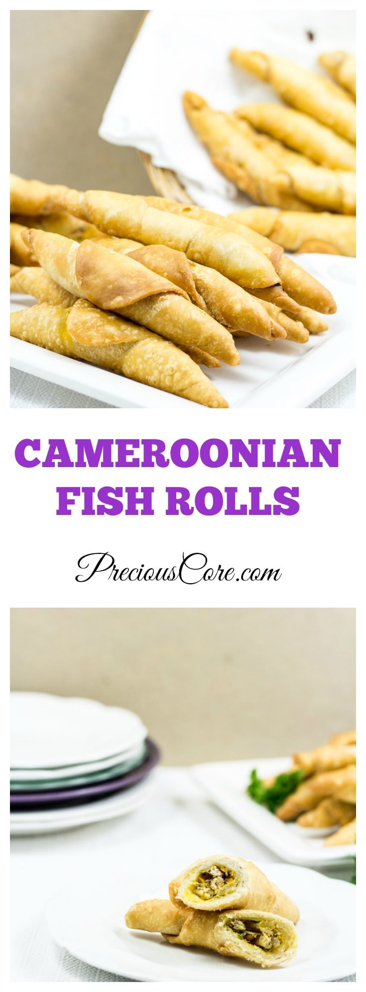best Cameroonian fish rolls recipe and video