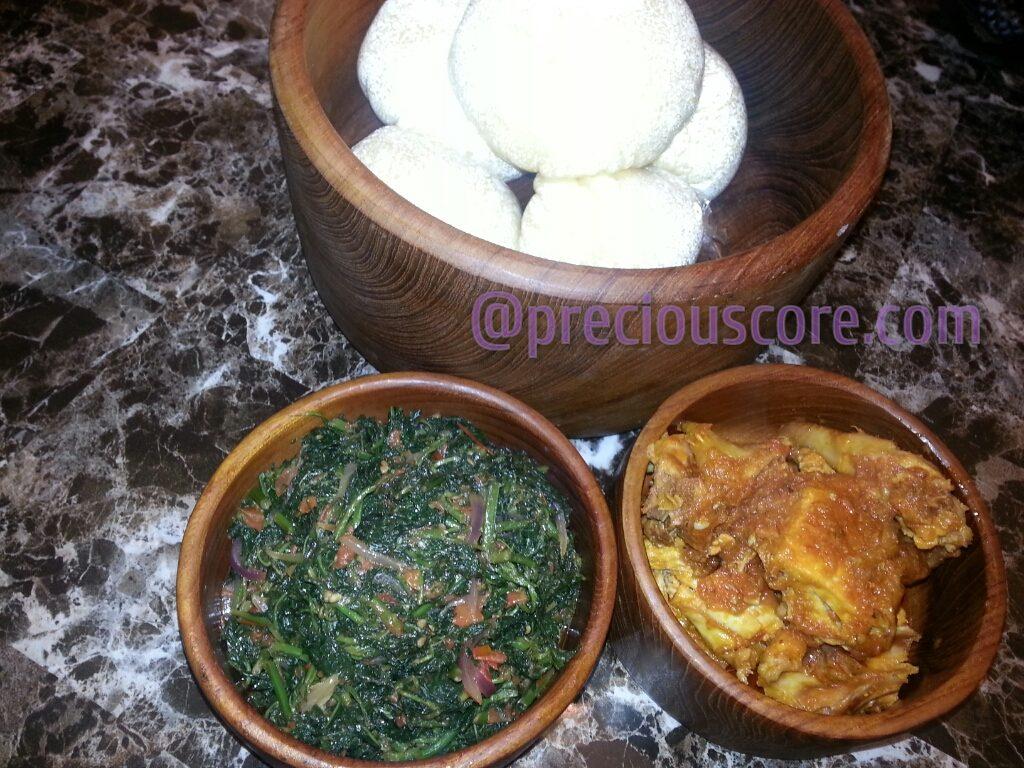 Fufu Njama Njama and Khati Khati