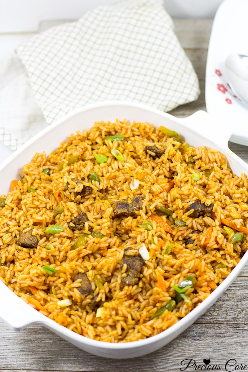 Cameroon jollof rice recipe easy method precious core perfect jollof rice cameroon ccuart Gallery