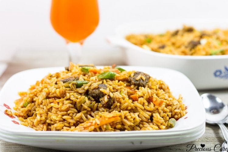Cameroon jollof rice recipe easy method precious core best cameroonian jollof rice recipe ccuart Gallery