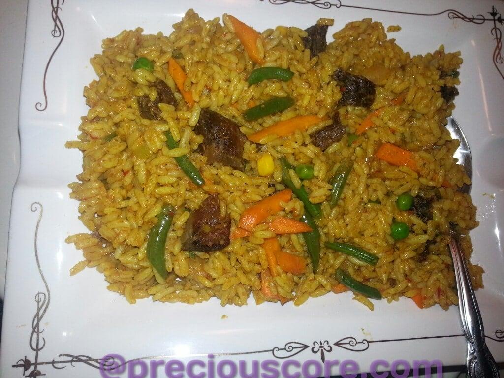 how to make liberian jollof rice