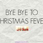HOW I SPENT CHRISTMAS
