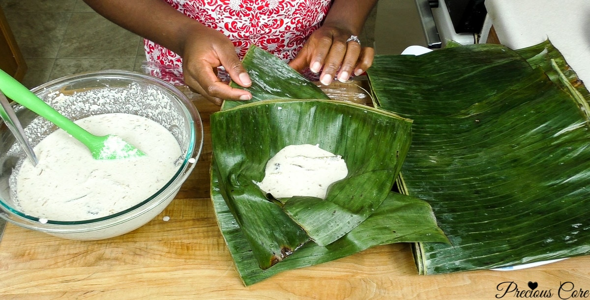 making egusi pudding 6