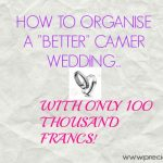 "HOW TO ORGANISE A ""BETTER"" CAMEROONIAN WEDDING WITH 100 THOUSAND FRANCS"