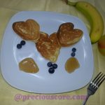EASY HEART-SHAPED PANCAKES FOR VALENTINE'S DAY