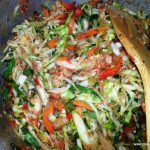 MIXED VEGETABLES WITH CABBAGE