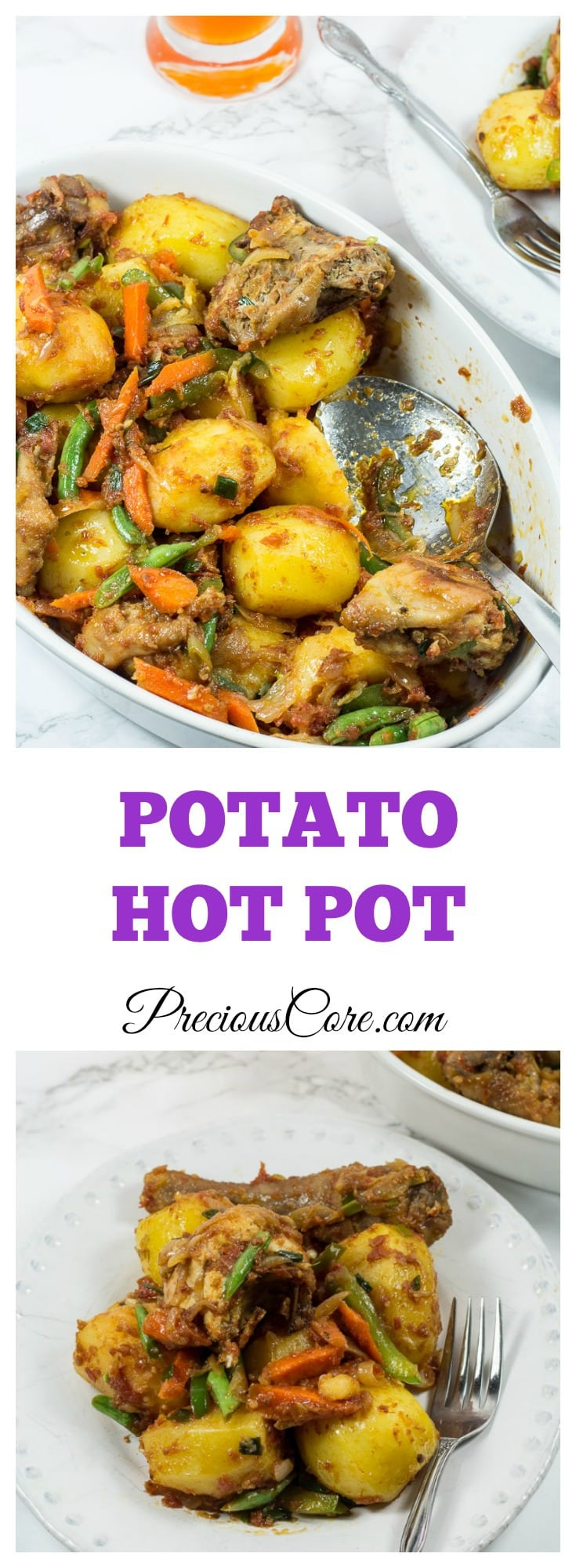 how to make potato hot pot