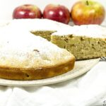 The best apple cake recipe made with fresh apples. The cake is moist with delicious chunks of apple, filled with great flavor and so tasty. This fresh apple cake recipe is perfect for fall or really any time of the year.