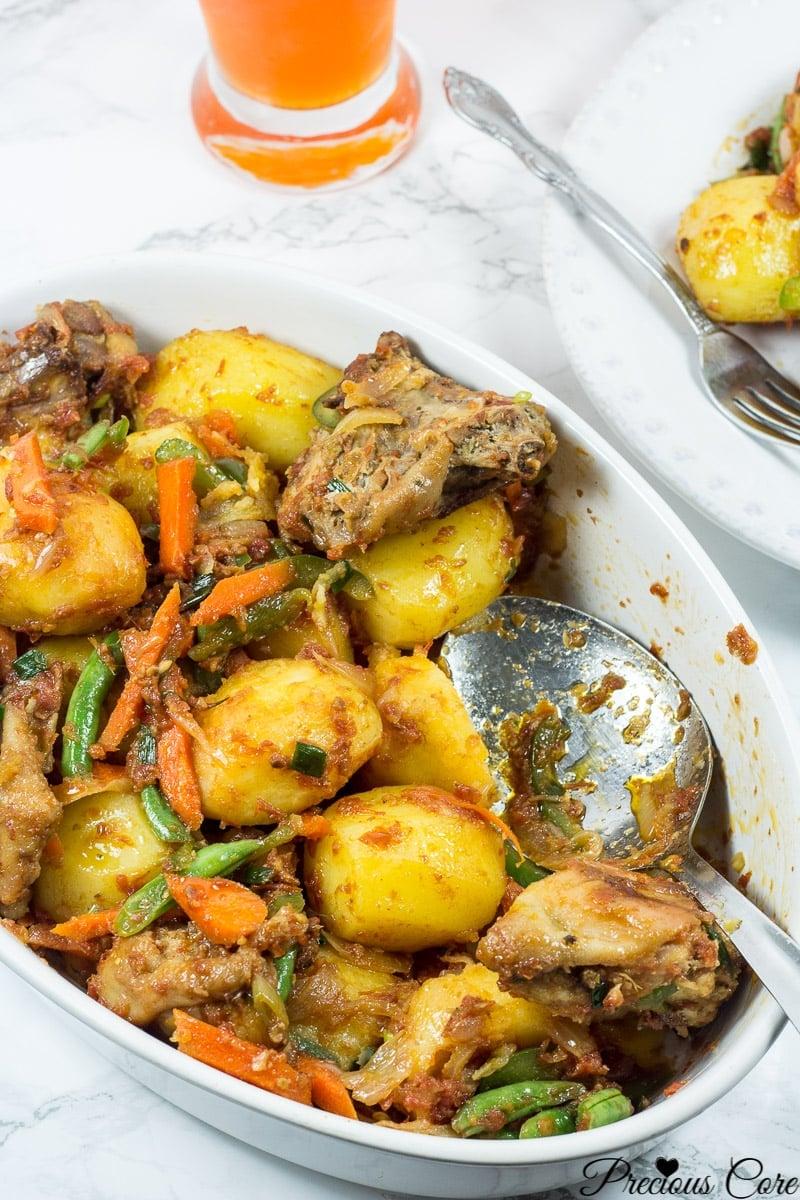 hot pot potatoes