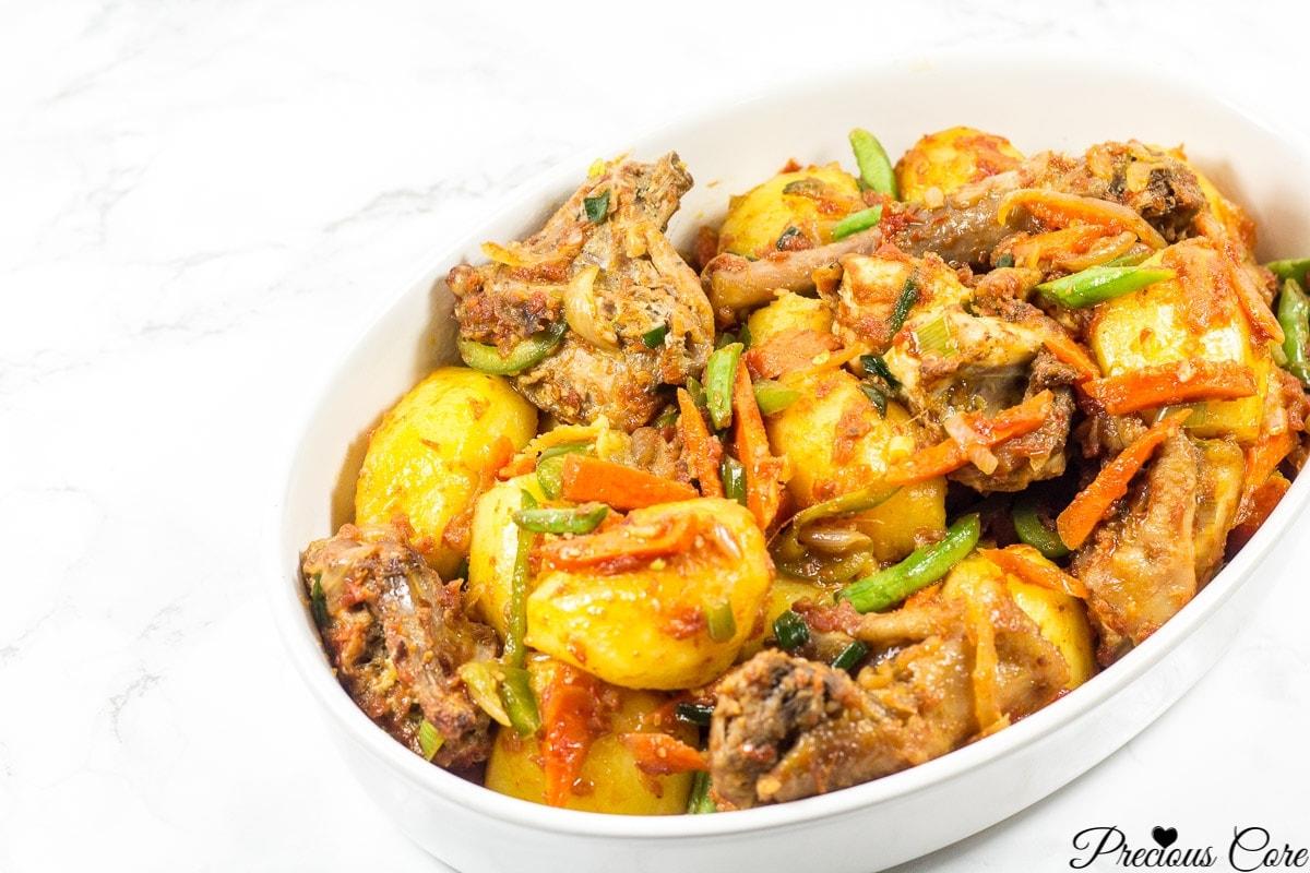 cameroon potato hot pot