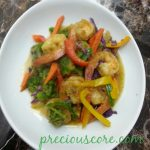SHRIMPS AND VEGETABLES STIR FRY