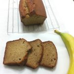 THE MOST DELICIOUS BANANA BREAD