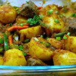 DELICIOUS IRISH POTATO HOTPOT WITH LIVER