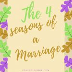 THE FOUR SEASONS OF A MARRIAGE