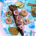 Cameroon roasted fish