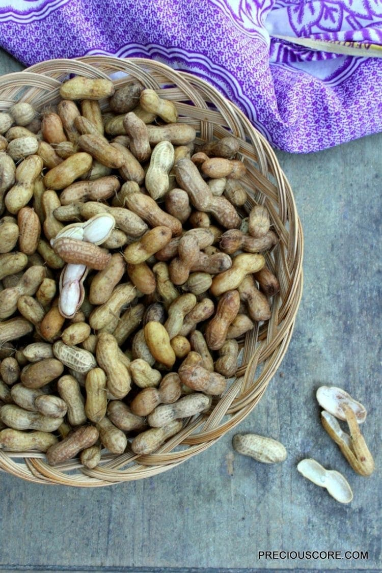 boiled-groundnut