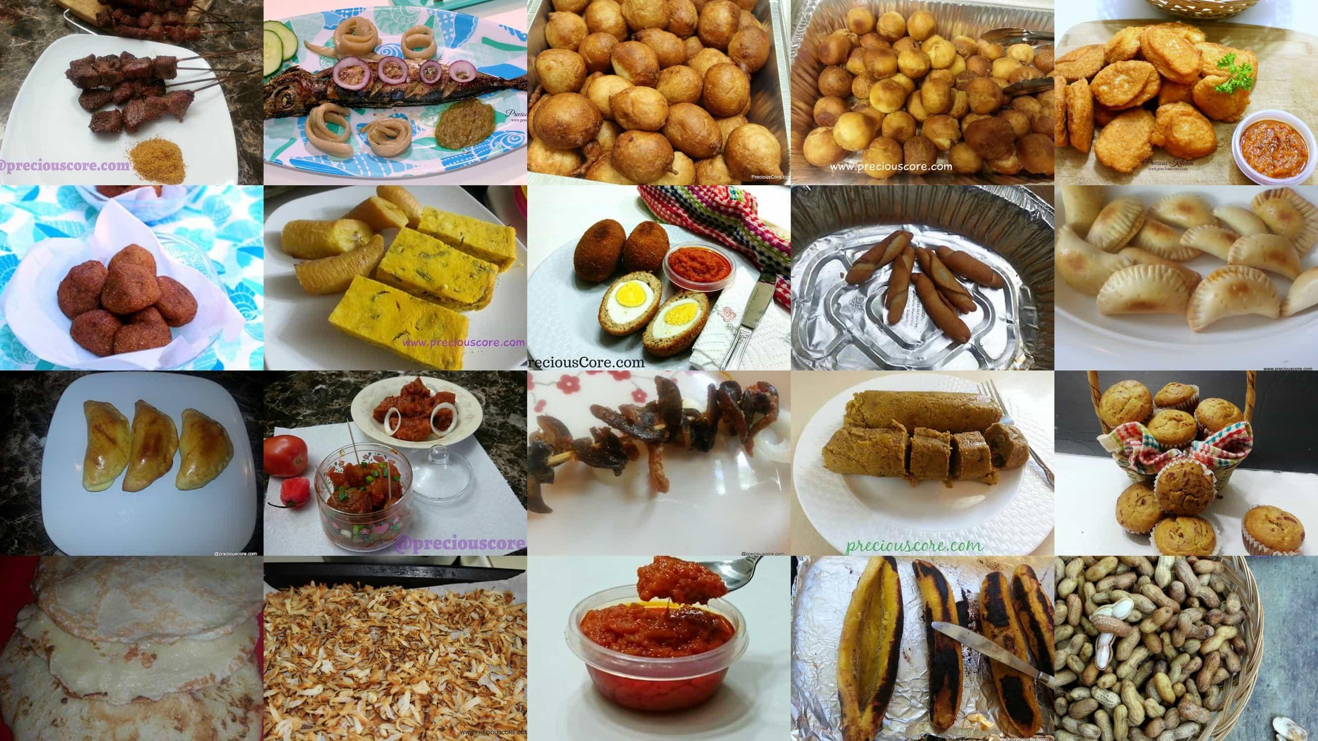 Cameroonian street food