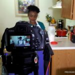 Precious Kitchen on set