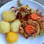 STEWED CABBAGE AND IRISH POTATOES