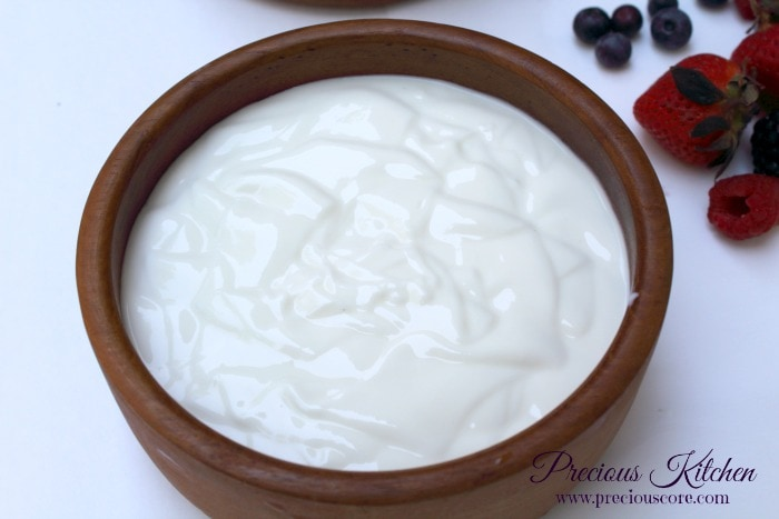Homemade yogurt recipe