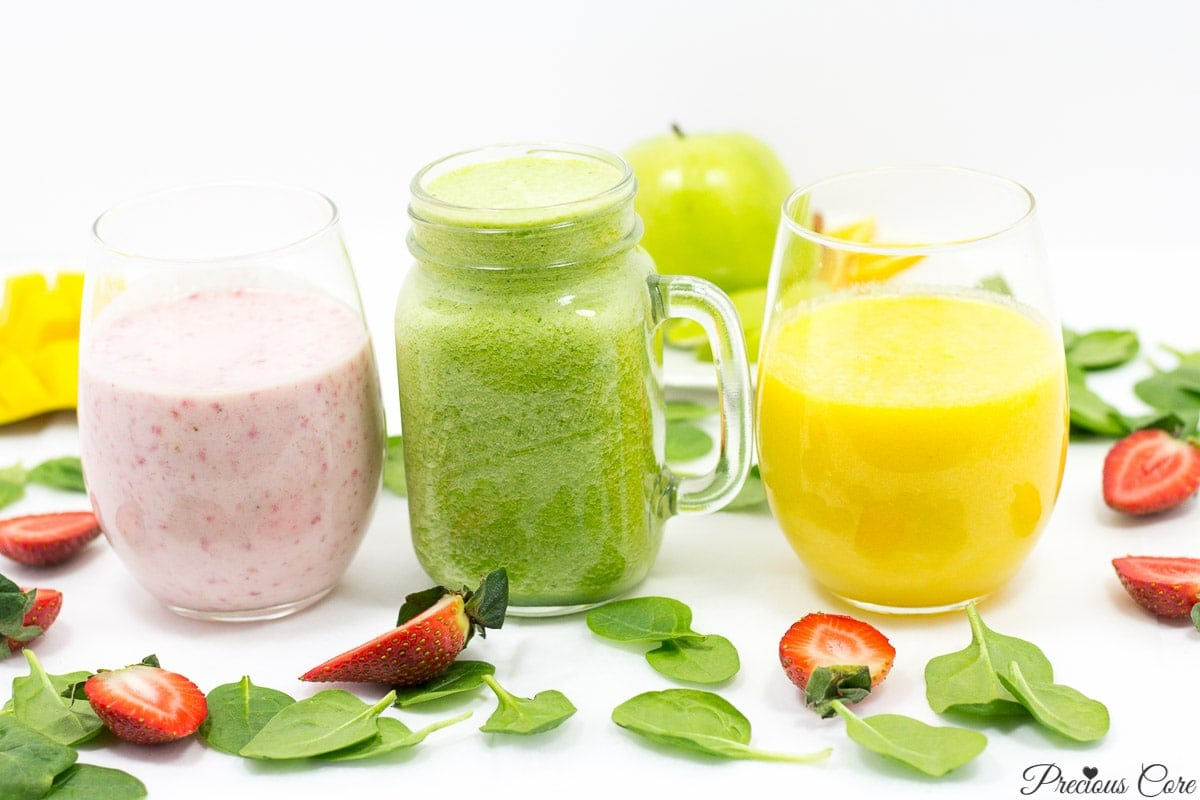 3 killer smoothie recipes