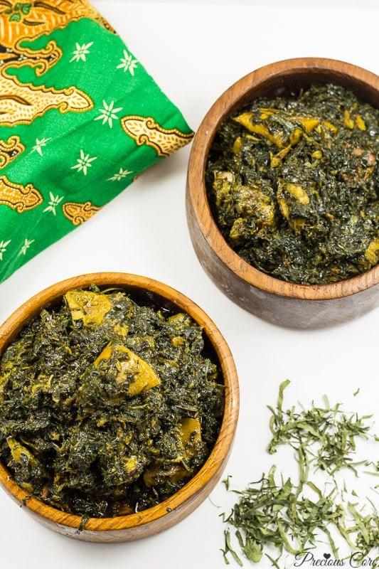Eru Cameroon food