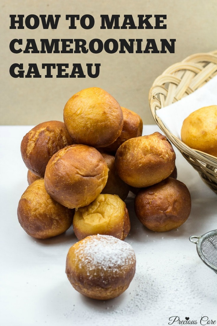Cameroon gateau recipe