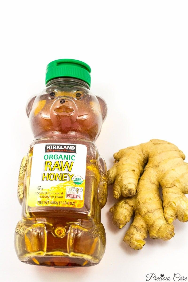 ginger drink ingredients