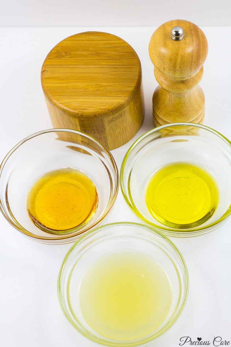 honey lemon dressing ingredients