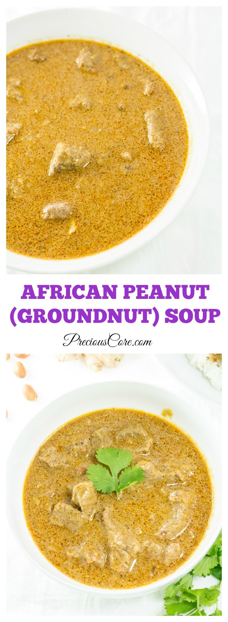 Peanut (Groundnut) Soup Recipe