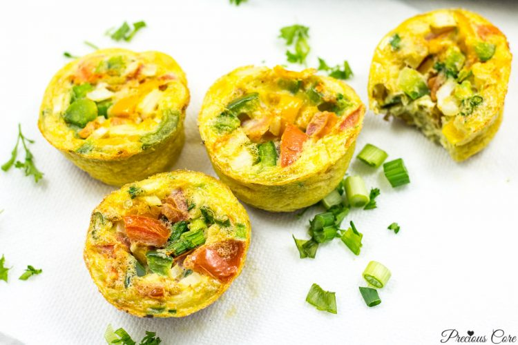 Breakfast Egg Muffins - Precious Core