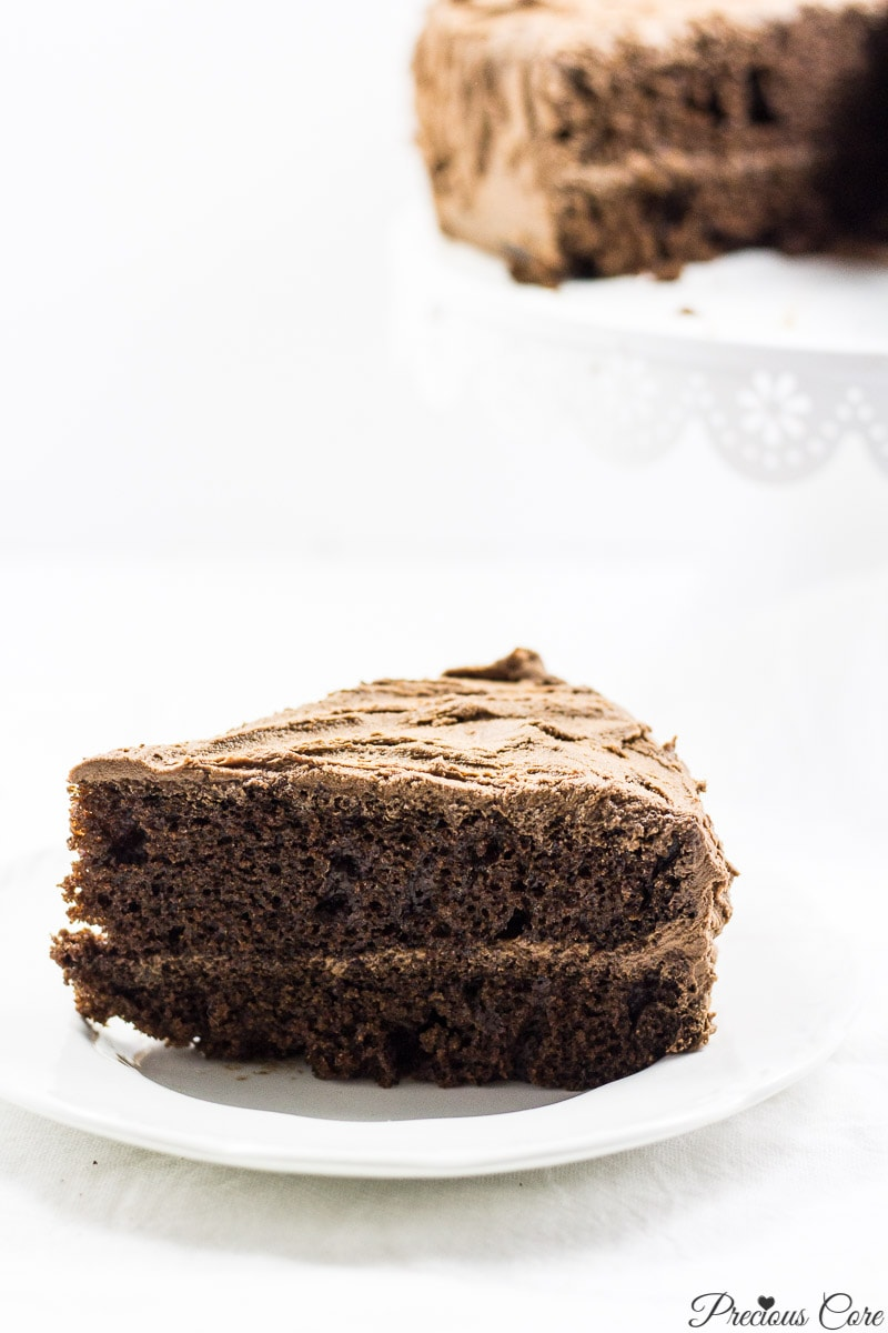 Perfect chocolate cake - Precious Core