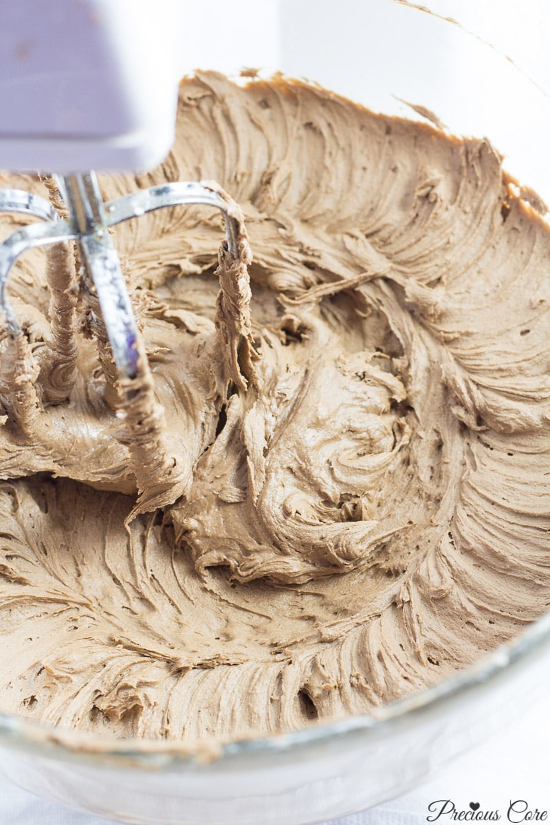 perfect chocolate buttercream frosting
