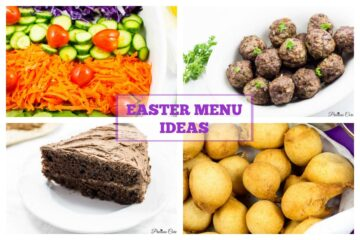 Easter Menu Ideas - Precious Core
