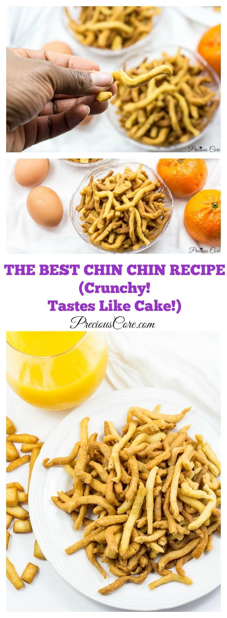 Cameroonian chin chin recipe
