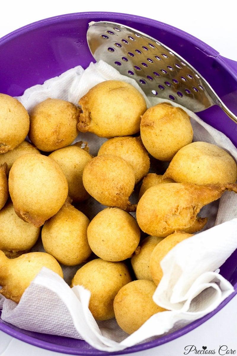 cameroonian doughnuts - precious core