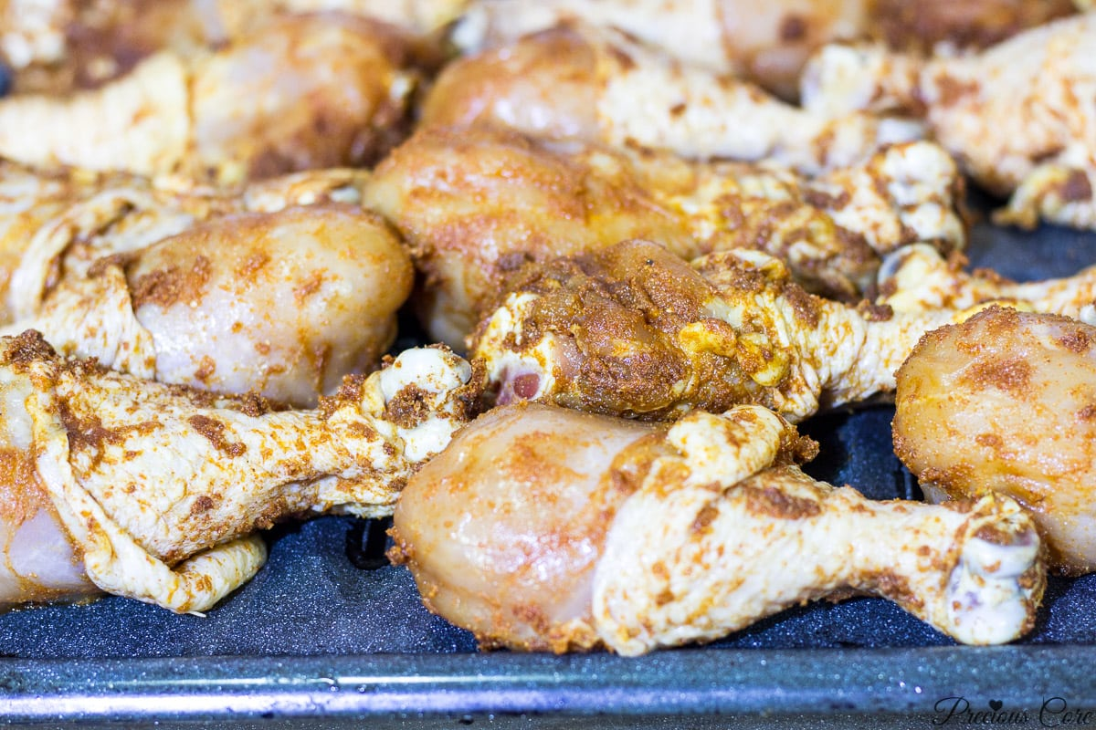 African marinade for grilled chicken