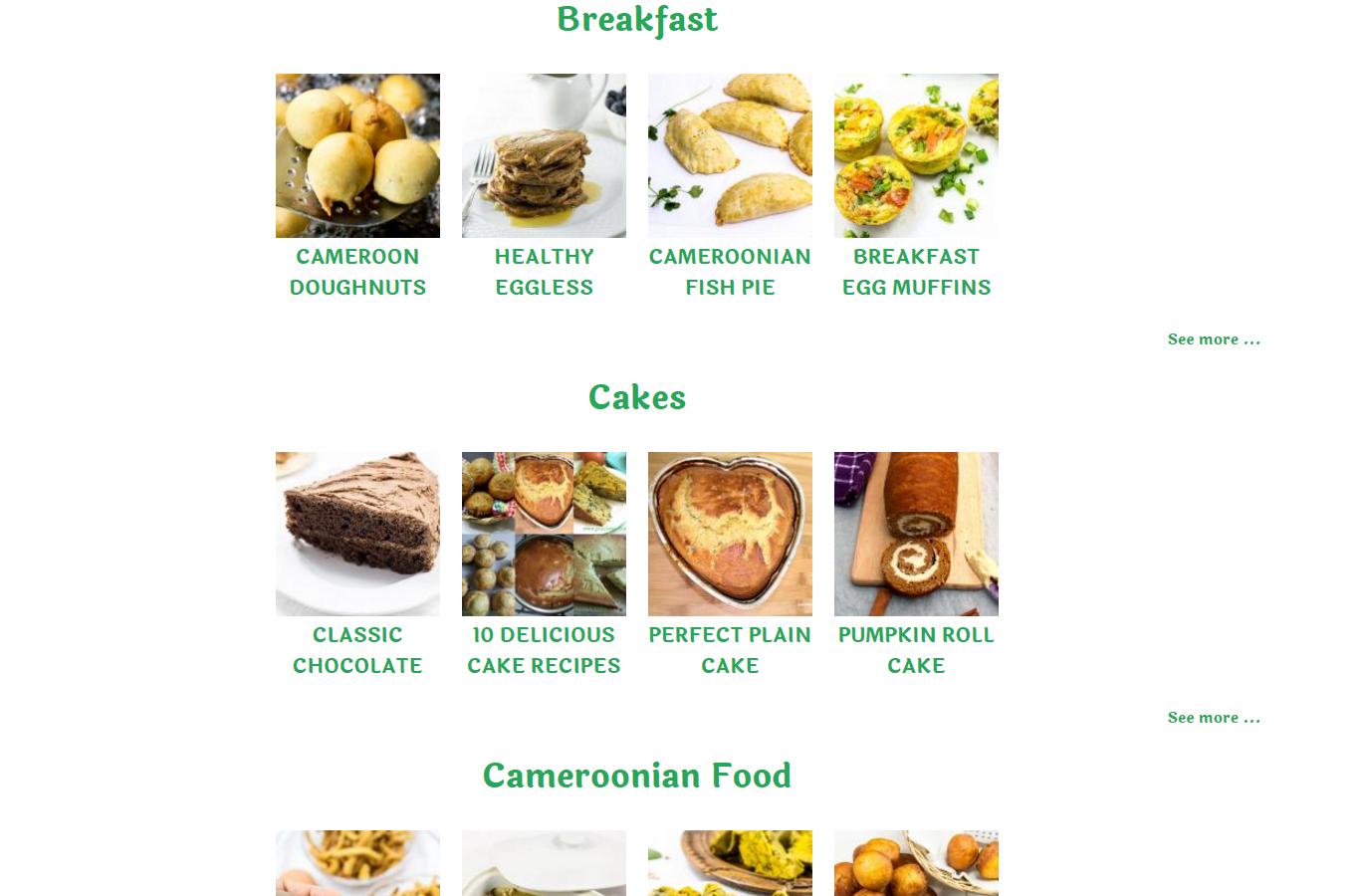 precious core recipe index 2