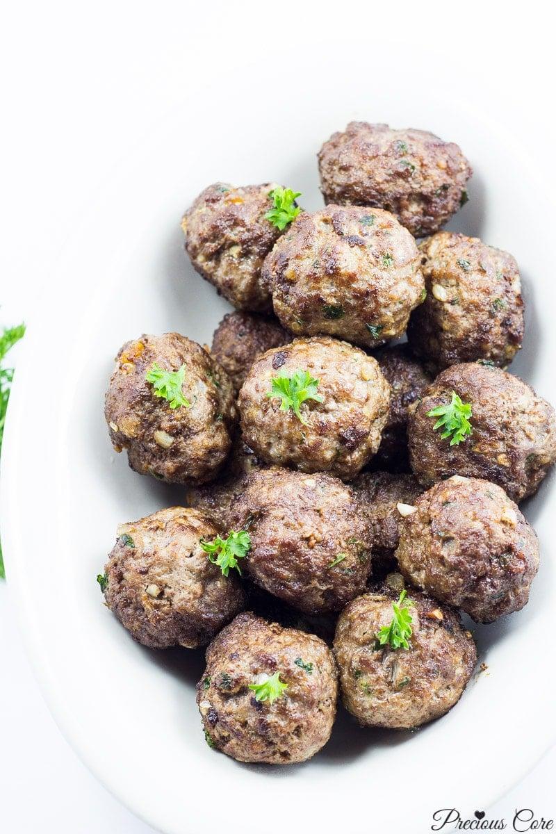 west african meatballs_