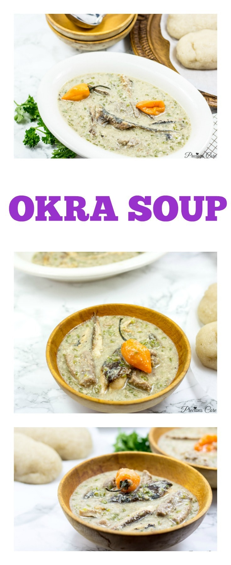 Okra Soup recipe