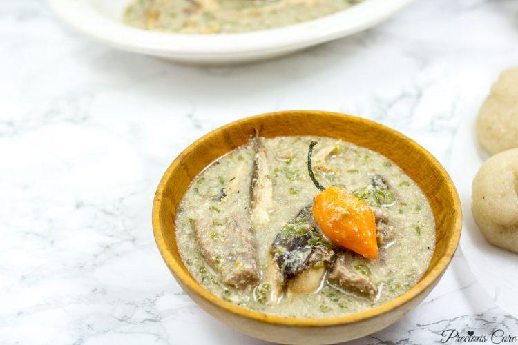 okra and egusi soup