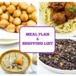 MEAL PLAN + SHOPPING LIST / WEEK 1