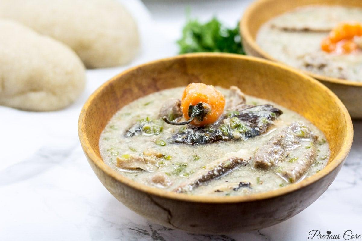 okra soup Cameroon