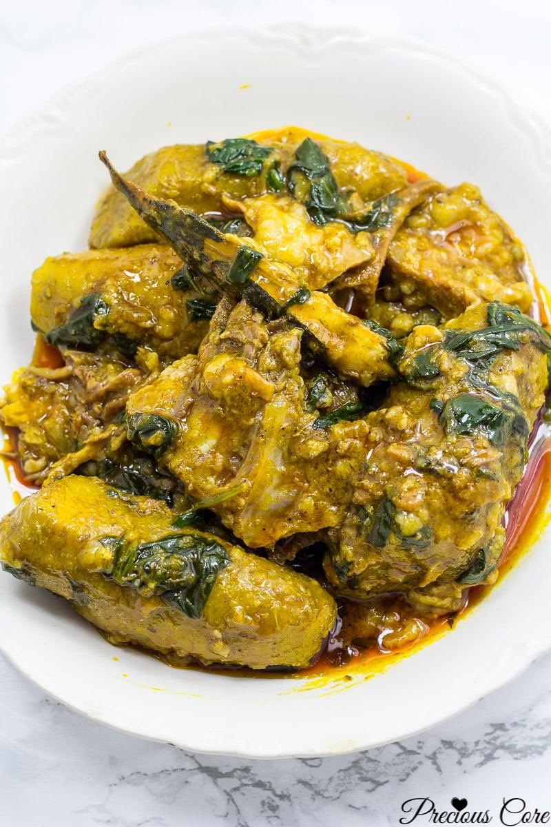 Cameroonian plantain porridge