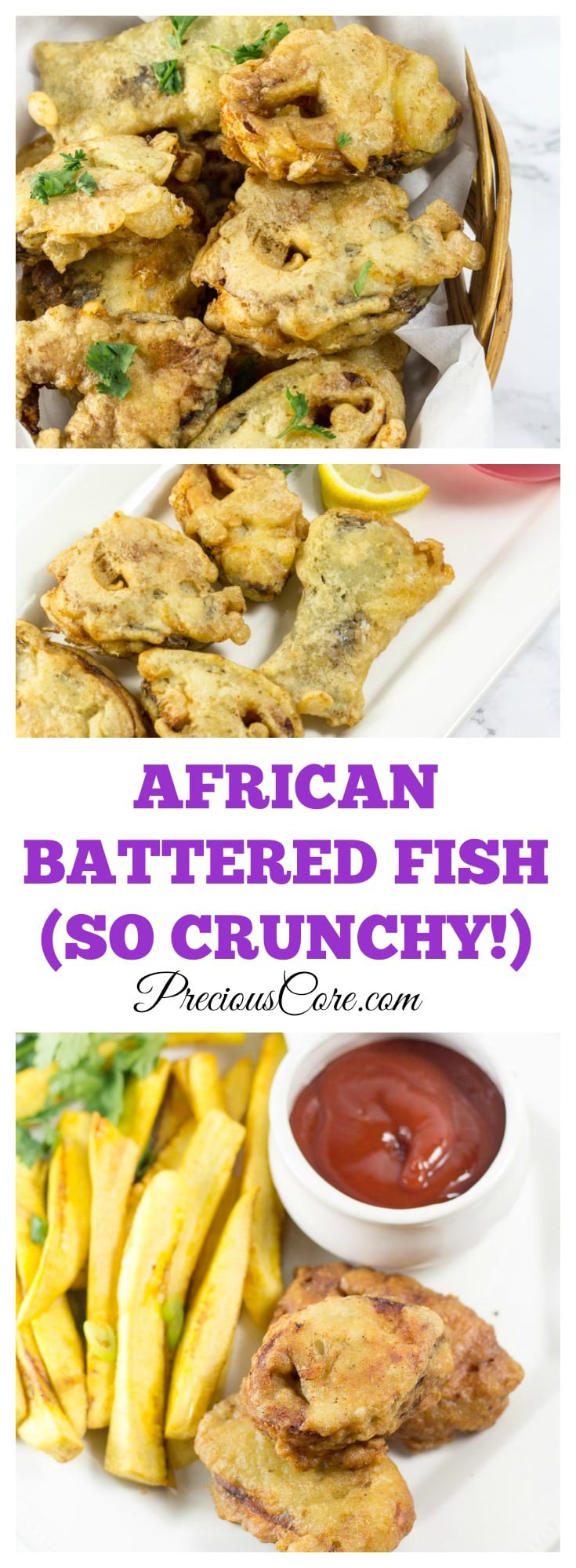 African fish in batter precious core for How to make batter for fish
