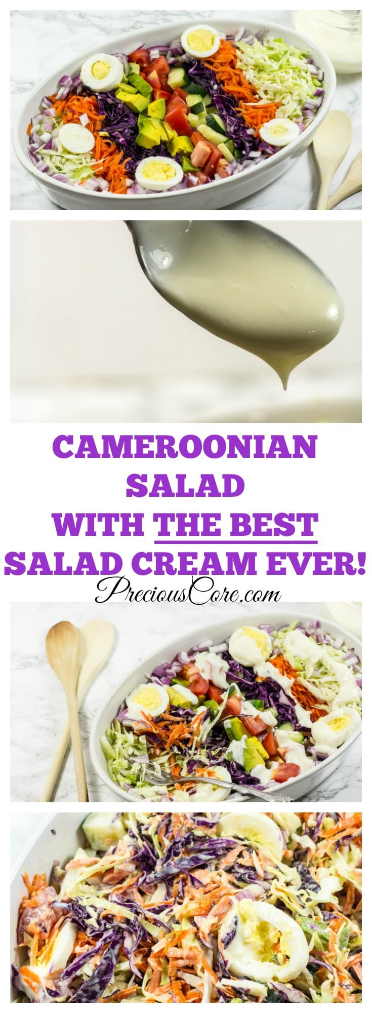 The best Cameroonian salad