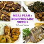 MEAL PLAN + SHOPPING LIST – WEEK 3