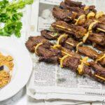 homemade beef suya, cameroonian soya, African kebabs