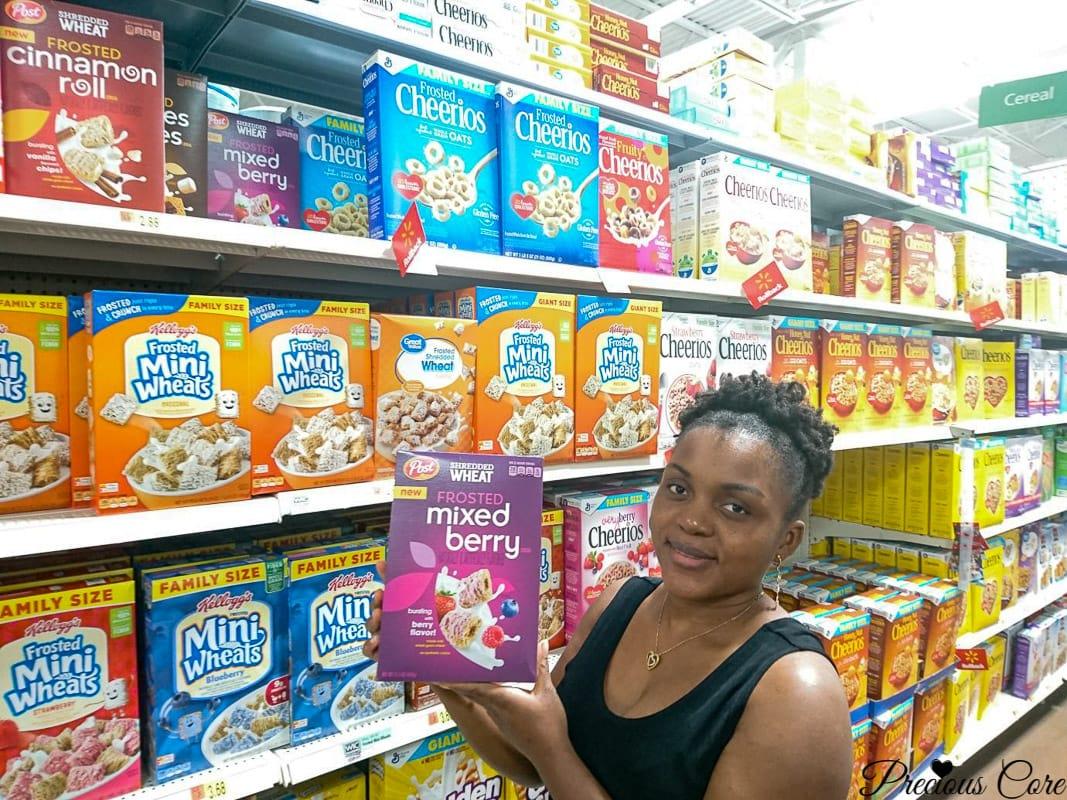 Post Cereal Walmart