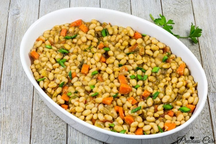 Cameroon white beans - haricots blancs